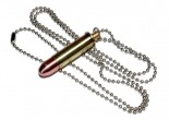 Necklace with a cartridge 9x29